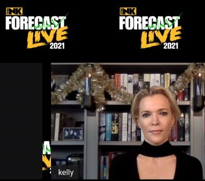 Megyn Kelly, appearing at Forecast 2021 LIVE on December 9