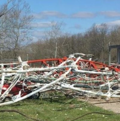 One dead, several injured after TV station tower collapses in Missouri